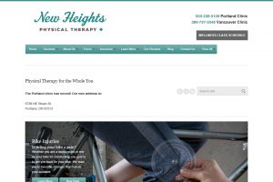 New Heights Physical Therapy Home Page