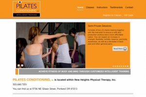Pilates Conditioning PDX Home Page