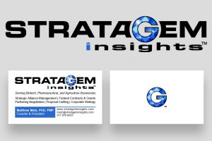 Stratagem Insights Logo and BC