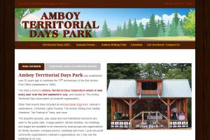 Amboy Territorial Days Home Page