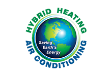 Hybrid Heating and Air Conditioning Logo