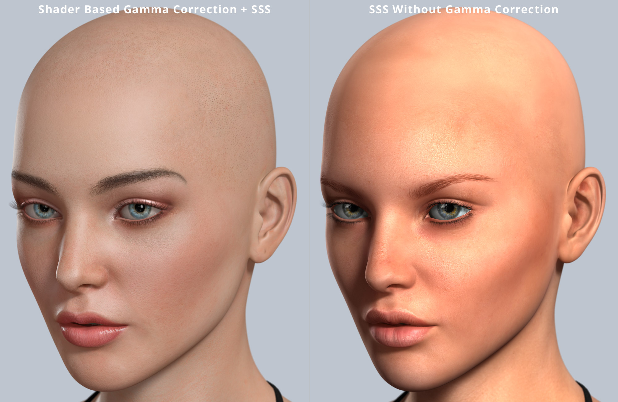 Realism with DAZ Studio and 3Delight - Gamma Correction