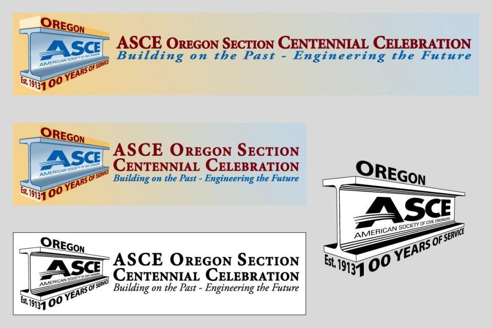ASCEOR Centennial Logos
