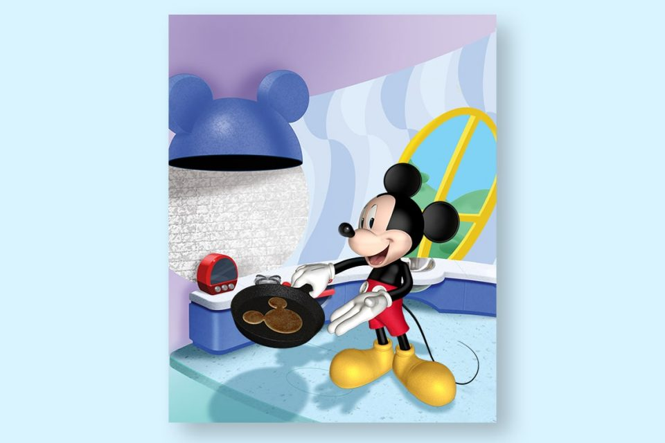 Corey Wolfe Mickey In Kitchen