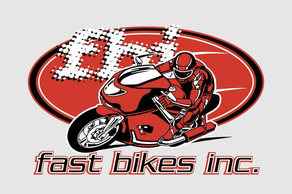 Fast Bikes Logo Red
