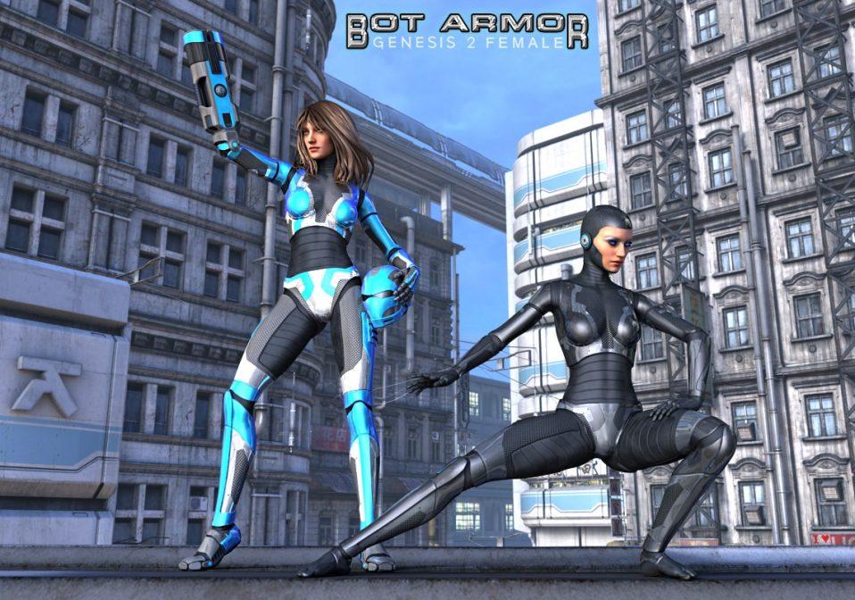 G2F Bot Armor Advanced Texture