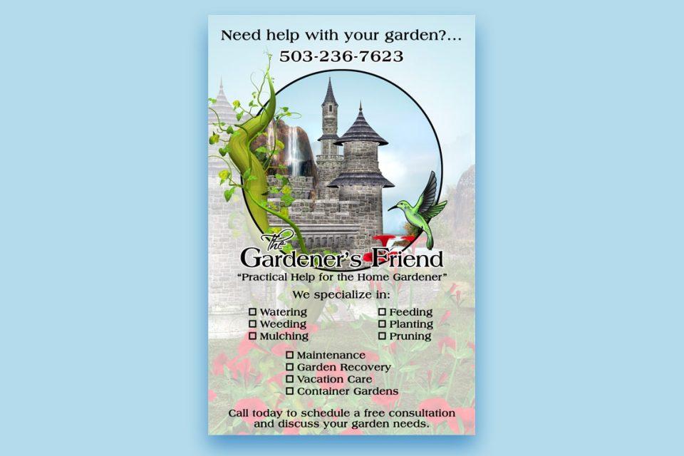 The Gardeners Friend Flyer