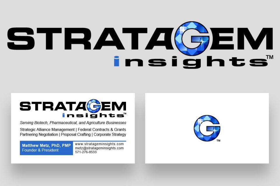 Stratagem Insights Logo and BC